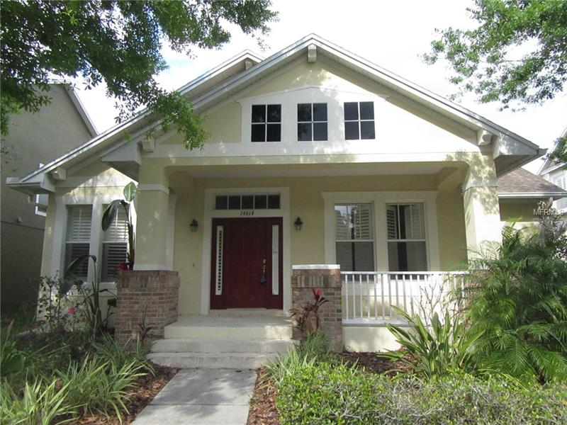 Two story single family home built in 2005 with 2711sf.  Main floor includes all 4 bedrooms.  Master bath has dual sinks with garden tub and separate shower.  Main floor also includes office and formal dining room.  Kitchen includes stainless steel appliances.  Second floor includes large bonus rooms with full bath.  Great Tampa location off of Race Track Rd.