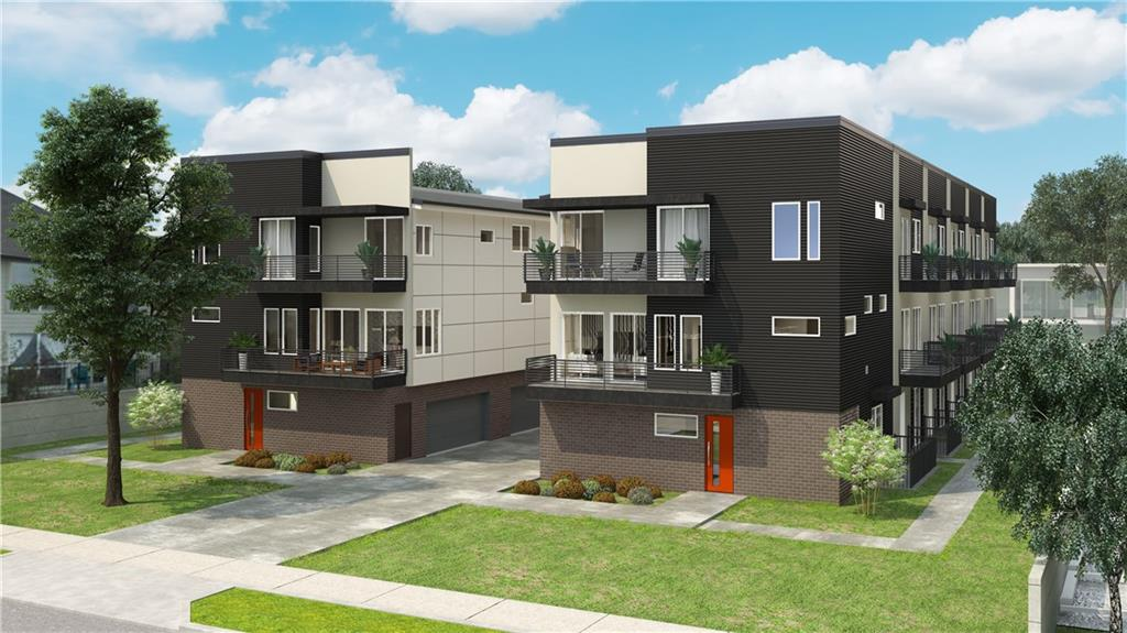 Melrose Heights Townhomes Phase II,  12 modern Townhomes for the 21st Century.  All have 3 bedrooms, 3.5  baths and range in size from 1763 to 2250 square feet. Kitchen has quartz countertops, stainless steel appliances, gas cooktop and European cabinets.  Buy early and make selections to customize your home. Anticipated completion date is Q1 2019.