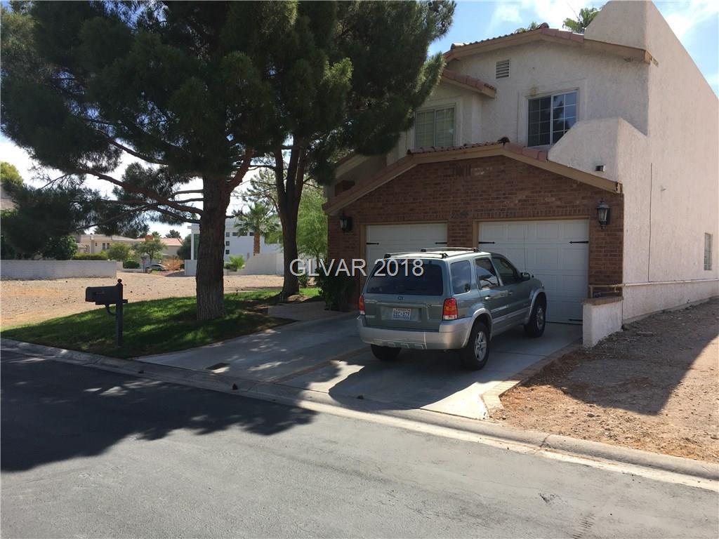 2822 QUEENS COURTYARD Drive, Las Vegas, NV 89109