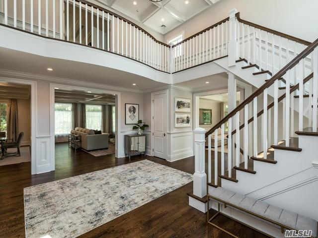 Get Ready To Be Whisked Away In The Lap Of Luxury In This Exquisite Manhasset Home. This Elegant, Spacious, And Meticulously Built Home Offers Masterfully Designed Principal Rooms Rich In Detail With Thick Moldings, Stunning Coffered Ceilings, And Grand Windows With Beaming Light. Entertain With Ease And Experience Blissful Moments Everyday In This One-Of-A-Kind Sanctuary.