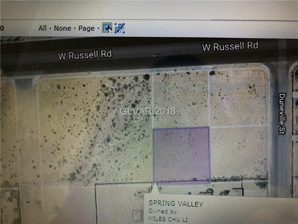 Russell Rd, Las Vegas, NV 89118