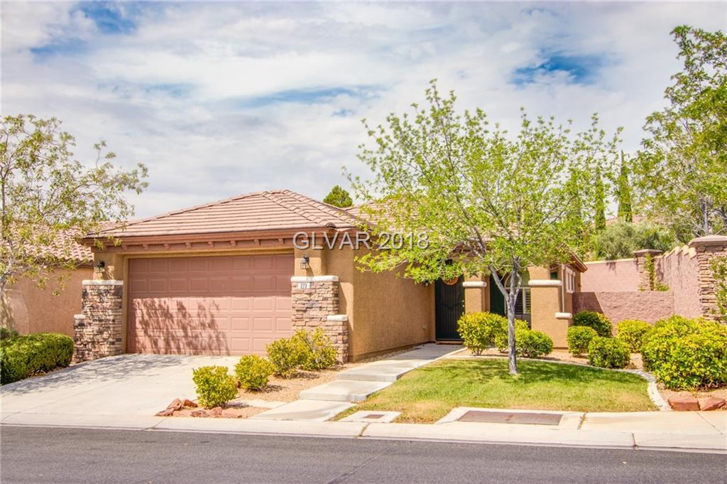 273 BAMBOO FOREST Place, Las Vegas, NV 89138