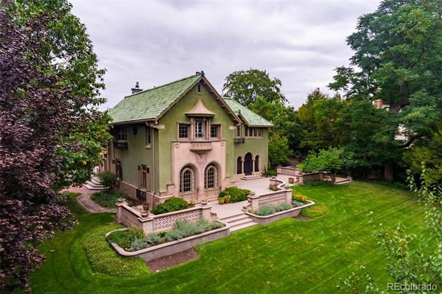 Exceptional, yet Limited Opportunity to Own One of Denver's Most Architecturally Stunning Homes.  Backs Directly to Denver Botanic Gardens with Great Views of the Gardens from Numerous Windows.  It's Remarkably Private and Quiet.   Located on 1/2 Prime Acre at the End of Private Street Shared by Only Two Homes.  Jacques Benedict Designed and Inspired.  Renovated with Beautiful Transitional Style while Honoring the Historic Landmark's Treasured Past.   ***Launching the Home by Partnering with Brilliant and Superbly Talented Interior Designer, Susan Bailey Weiss to Showcase All New Light Fixtures and Furniture & Accessory Pieces Imported from All Over the World to Inspire Era-Authentic Design Elements (Not Included).  Be Sure to Check Out the Exceptionally Cool Video Attached to this Property Listing.