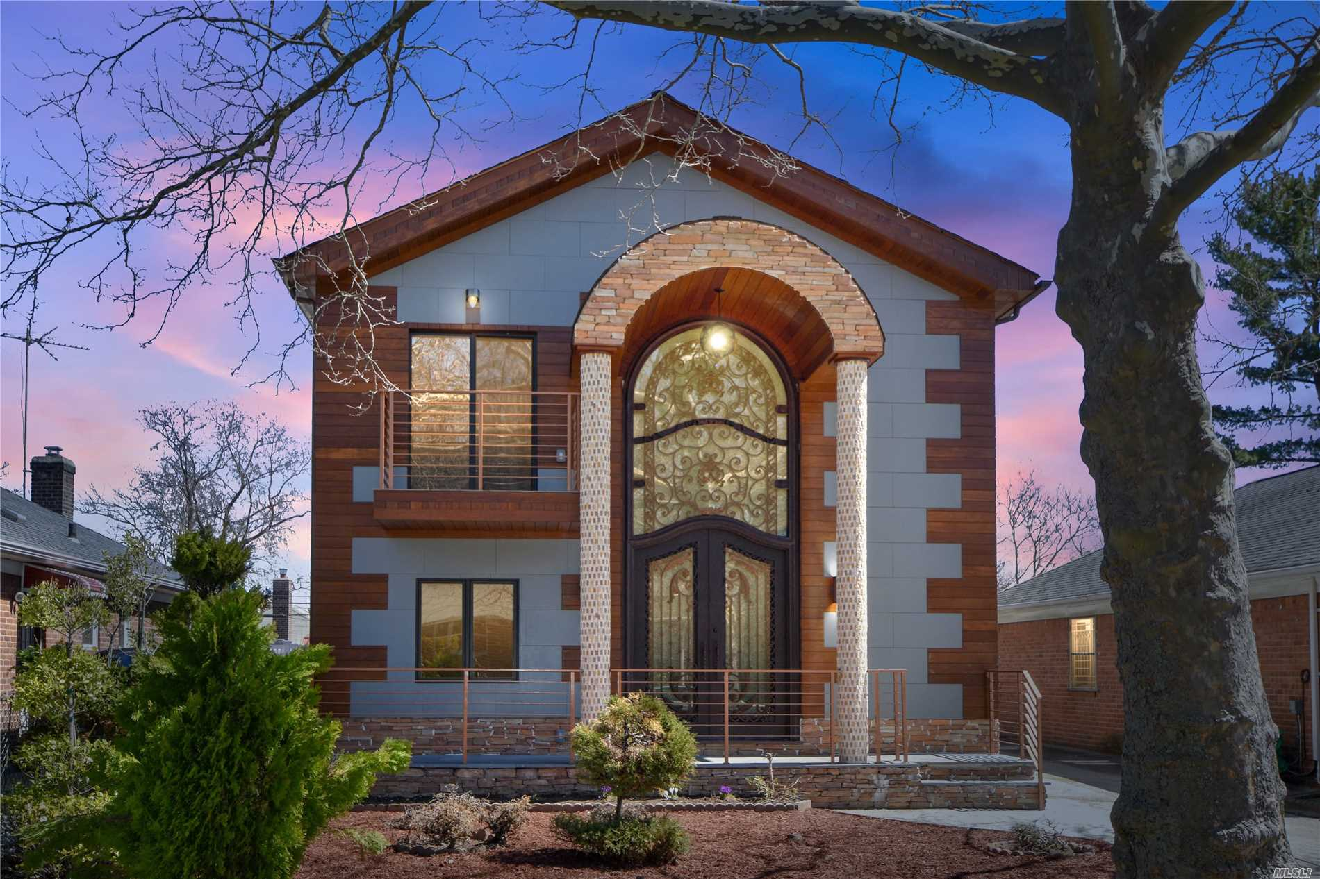 Picture Perfect Inside & Out! Complete Renovation! Quality Craftsmanship W/Custom Architectural Design Through-Out! Grand Cathedral Entryway, 4 Bdrms, 3.5 Baths, Custom Mosaic W/Copper Rose Gold, State Of The Art Kitchen W/Marble And Smart Appliances, Gleaming 100 Yr Warranty Heated Hardwood Floors, New He Plumbing, Heating And Electric, Ductless Cac, Custom Designed Cumaru Brazilian Teak And Portuguese Viroc Panels With Steel Entry Door, Tray Ceilings, Custom Molding, Full Fin Bsmt And More!