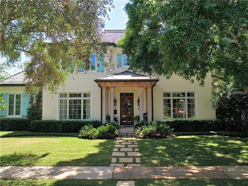 Highly sought-after South Tampa neighborhood of Parkland Estates.