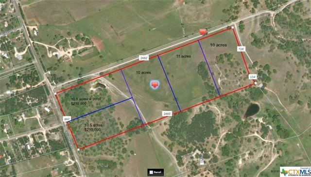 """Private, Secluded, Exceptional Acreage Home site off Stillhouse Hollow Lake! Absolutely Stunning Views, Privacy, Cattle and Mature Oak Trees, Hunt or Build That New Dream Home. This Property is Truly Heaven on Earth! Wildlife abounding throughout. Ag exemption transfers, No City Taxes. Development Agreement with City of Killeen that does not allow the chance of annexation for a minimum of 32 more years! West Bell Water 3"""" water lines. Electricity Poles installed. Come See This Pick Your Home Site!"""
