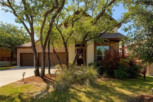 Open floor plan where living, dining, and kitchen are great for entertaining. Master, Office, and Formal dining on 1st floor. Master bath has very elegant upgrade with double closets.  3 beds and 2 baths, Media room and a loft on 2nd floor.  Double ovens, built in cooktop&microwave. 3 car garage. Brush Creek Sports Park located right across from the community provides unique lifestyle.  Children's school being built at the entrance of the community will be part of an amenity to live in this neighborhood.