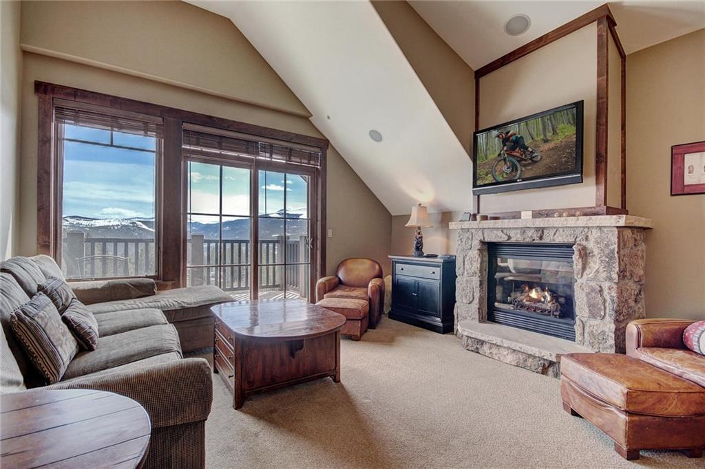 3 bedroom end residence with vaulted ceilings and expansive mountain views.  This luxury residence boasts timeless finishes and designer furnishings.  Enjoy the amenities at both Crystal Peak Lodge & One Ski Hill Place which includes hot tubs, an aquatic center, billiards, bowling alley, theater room, business center and more.  Easy ski in/ski out access steps from your assigned ski locker.  Minutes to Main Street via the BreckConnect Gondola and a dedicated shuttle.