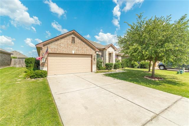 Beautiful home with open kitchen that overlooks the dining and living room.  Gorgeous wood floors at entry that flow throughout the dining room and down the hall.  Home was built by a custom home builder, and features a great floor plan with master bedroom separate from secondary bedrooms.  The welcoming stone patio in the backyard is the perfect backdrop for entertaining, family dinners or relaxing by the fire pit.
