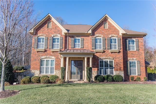 Fully upgraded home in desirable Bridgemill in Indian Land. Minutes to Ballantyne and I485. Functional floor plan with plantation shutters throughout, kitchen with large island opens to great room, upgraded lighting, granite, french doors/office, large dining room, CUSTOM closets!, screened porch, extended patio, private backyard and arbor, in ground irrigation system, new fence and retaining wall. Laundry room w/butcher block folding table. Upstairs boasts a spacious bonus room/loft area, new carpet and upgraded carpet pad. 