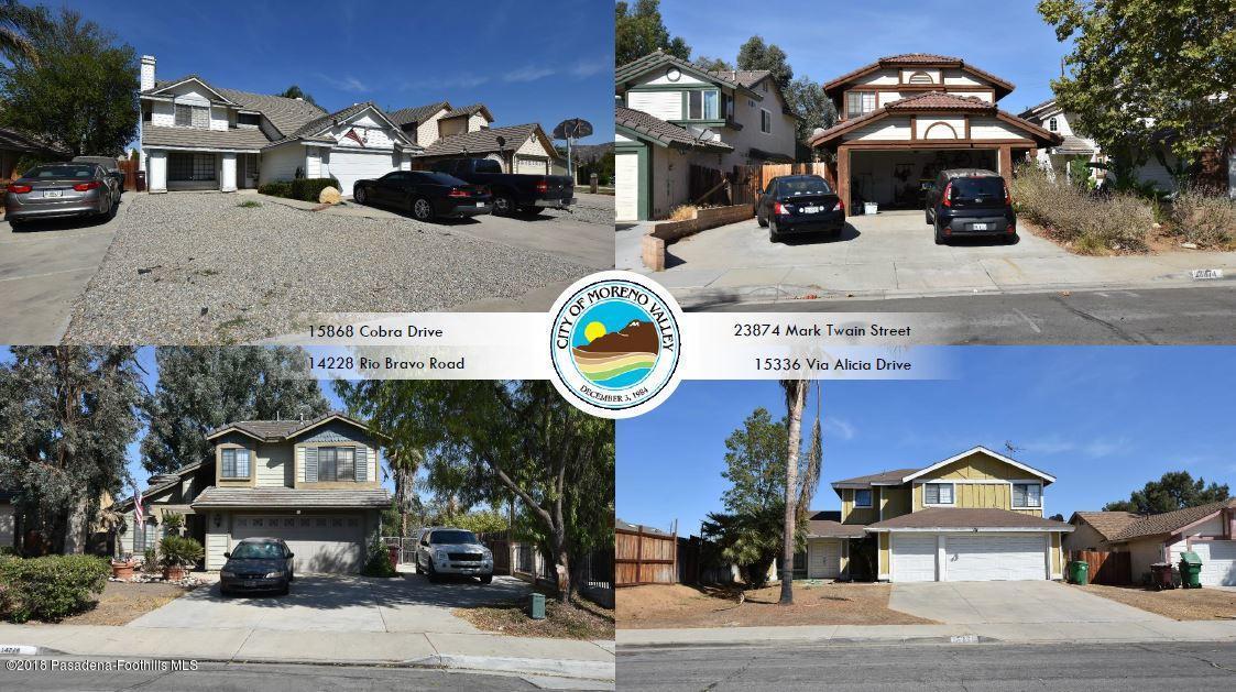 4 SFR IN MORENO VALLEY BULK SALE Drive, Moreno Valley, CA 92551