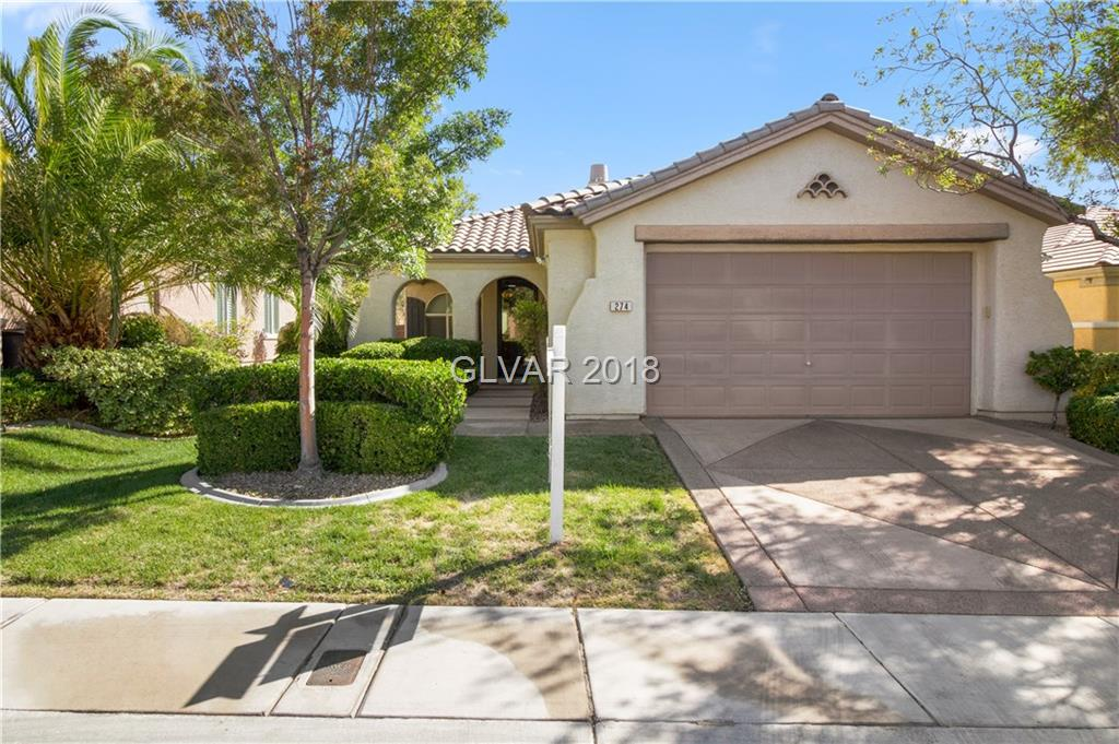 274 BAMBOO FOREST Place, Las Vegas, NV 89138