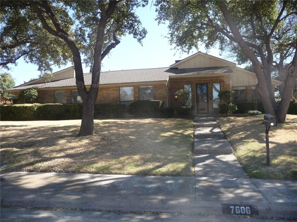 Very nice C shape home with 5 bed. 4 bath, 3 car garage and pool. Master bath has been completly remodeled. Separate fenced yard. Very bright and inviting, quiet neighborhood in Richardson ISD. Extra space in master perfect for a private study.