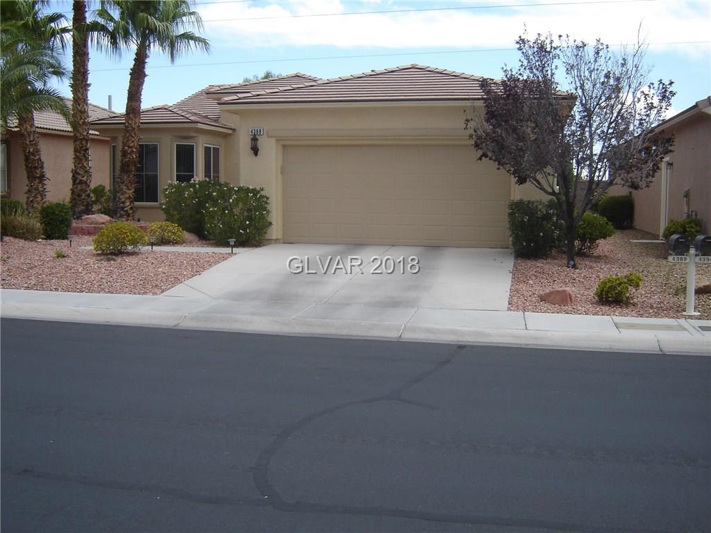 4388 REGALO BELLO Street, Las Vegas, NV 89135
