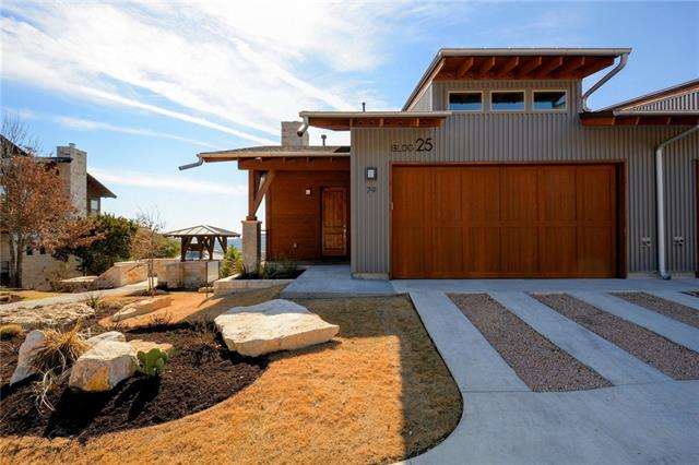 """Three pairs of this floorplan are the last Hillside new construction homes to be built. Site is below the pool area, looking Southeast to downtown. Delivery Q4 2018. Buyers choice of an excellent range of contemporary finishes. This modern community has won four national architecture awards and Austin Homebuilders Assn """"Best Community under 300 homes"""" and is surrounded by the Balcones Canyonland Preserve. Open House Sundays 1 - 4 pm."""