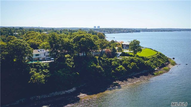 First Time Available In 60 Years! Price Adjusted To Sell. The Highest Elevated Parcel In Kings Point On Coveted Block Featuring New York City Skyline Waterfront Views. At 1.2 Acres With Access To A Private Beach This Trophy Property Has 250' Of Frontage On The Long Island Sound Overlooking Manhattan. Listening To Offers. Best Views In Great Neck And Long Island!