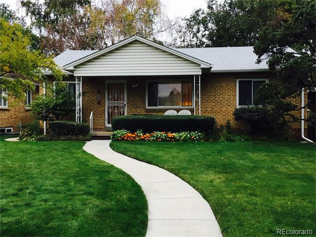 Picture of a home in 1065 South Jackson Street Cory Merrill Denver CO