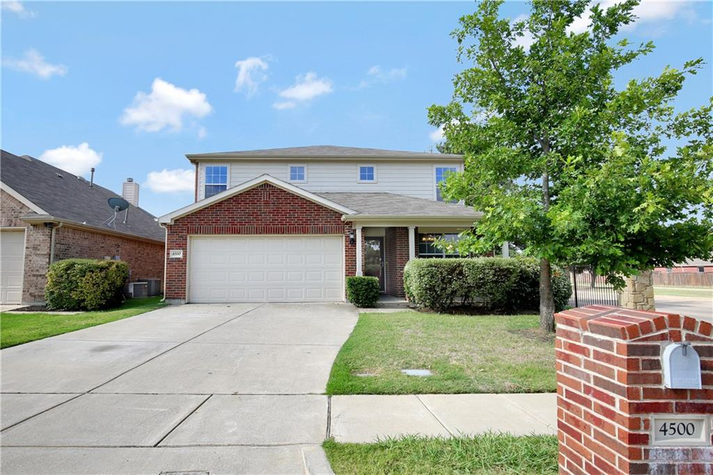 Built in 2008, this Fort Worth two-story corner home offers plenty of natural light, marble master bath countertops, and a two-car garage. Upgraded features include fresh interior paint and new carpet. Two pools, cabanas, a park, and two playgrounds are part of the HOA. Home comes with a 30-day satisfaction guarantee. Terms and conditions apply.