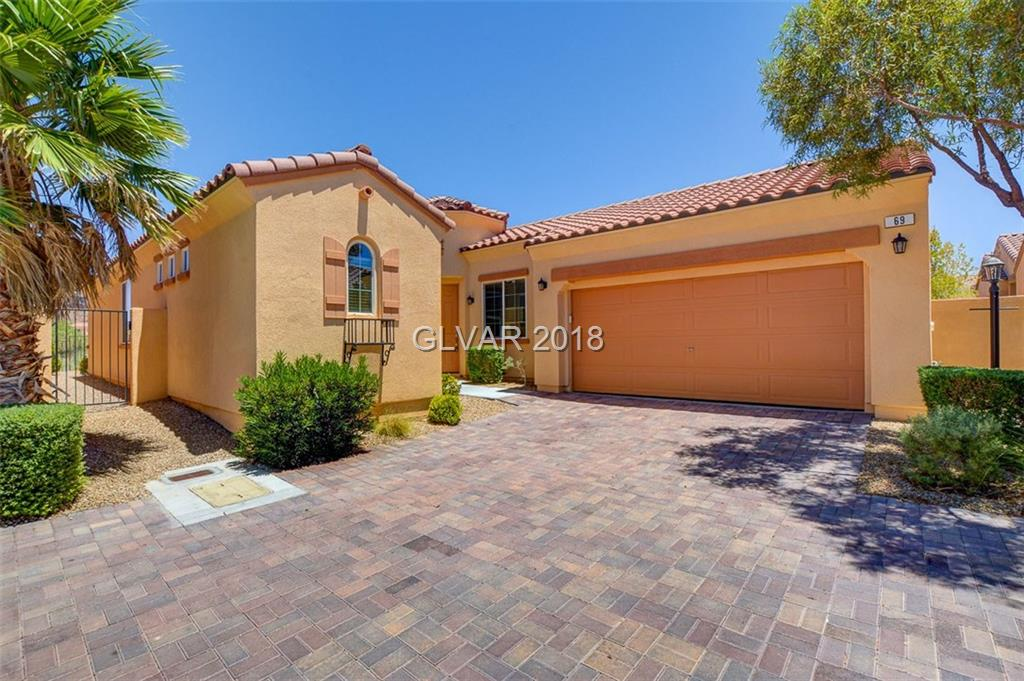 69 VIA DI MELLO, Henderson, NV 89011