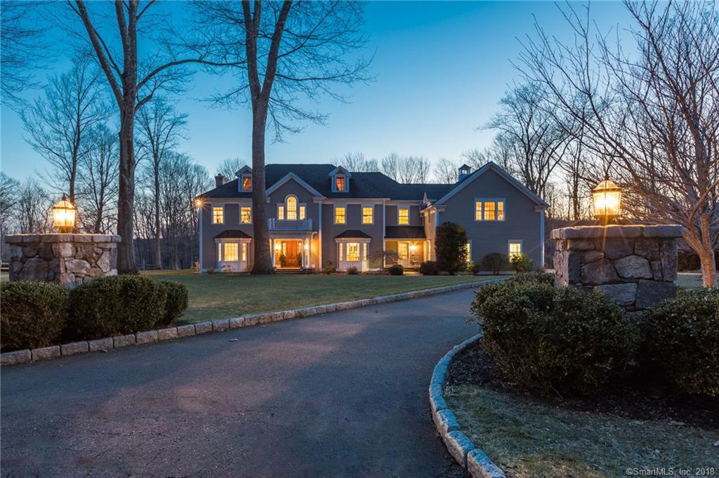 Close to schools!  Spectacular 4/5 bedroom Custom Colonial on a quiet cul-de-sac.  Great flow, gorgeous millwork, chef's kitchen with Wolf & Sub-zero appliances, huge island & walk-in pantry.  Room for pool off of the stone terrace with fire pit.  Incredible mud-room w/ built-ins, powder rm adjoining kitchen & back stairs. The master suite offers privacy, a stone fireplace with gas hook-up, large dressing rooms & stunning spa bath.  3 additional en-suite bedrooms are well-sized with walk-in closets & hardwood floors.  A huge bonus room houses the laundry, an office, full bath, storage & large play space or 5th bedroom, in-law or au-pair suite, movie theatre, etc.  The possibilities are endless!  Expansive 4 car garage has room for all of your cars & toys.  PLEASE NOTE THAT THE TOWN HAS RE-ASSESSED THIS PROPERTY AND AS OF THE JULY 2018 THE TAX PAYMENT WILL BE BASED ON THE ASSESSMENT VALUE OF $667,000.