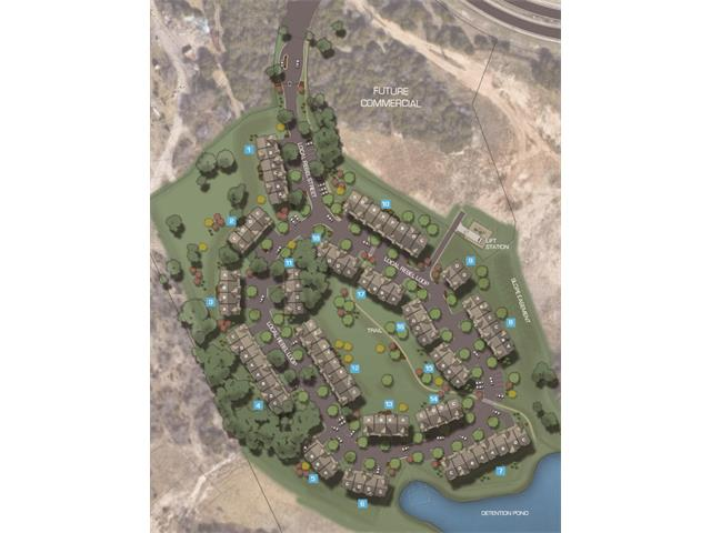 "Townhomes at Crystal Falls community features a low-maintenance lifestyle in a gated community with professionally designed townhomes that include granite countertops, wood plank flooring, raised ceilings and more. Enjoy two ""amenity"" centers with swimming pools, an 18-hole golf course, playgrounds, disc golf, fishing, hiking and bike trails. *Pics of development/community. Actual unit detail may vary."