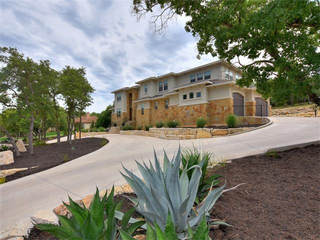 Stunning two story custom home in Crystal Falls Grand Mesa on over an acre home site. Dramatic high ceilings and stone fireplace in great room. Wood floors throughout main living areas and bedrooms. Chef's kitchen includes separate refrigerator/freezer, pot filler faucet over stove, double oven, and walk-in pantry. Master and second bedroom on main with en suite baths. Theater and game rooms insulated for sound. Laundry on both levels. Huge covered patio w/outdoor kitchen and amazing hill country views.