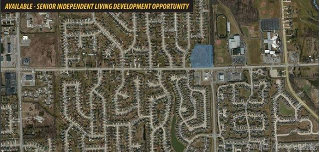 Existing agreement between Seller and Macomb Township that wil permit a 68 uni Senior Independent Living development.  DEQ permits have been issued and are on file.  Preliminary Site Plan, Floor Plan, and Elevations are available.