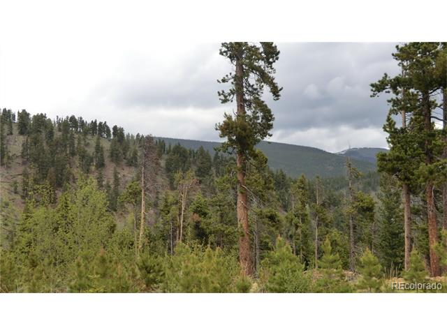 """Hideaway land bordered on two sides by national forest.  Camp Creek at edge of property.  Rare land with views in all directions and less than one hour from Denver.  Rugged property offers total seclusion at the end of the road.  Power at edge of the property and phone too.  Perfect for getaway place, seclusion or for the """"hermit"""" lifestyle."""