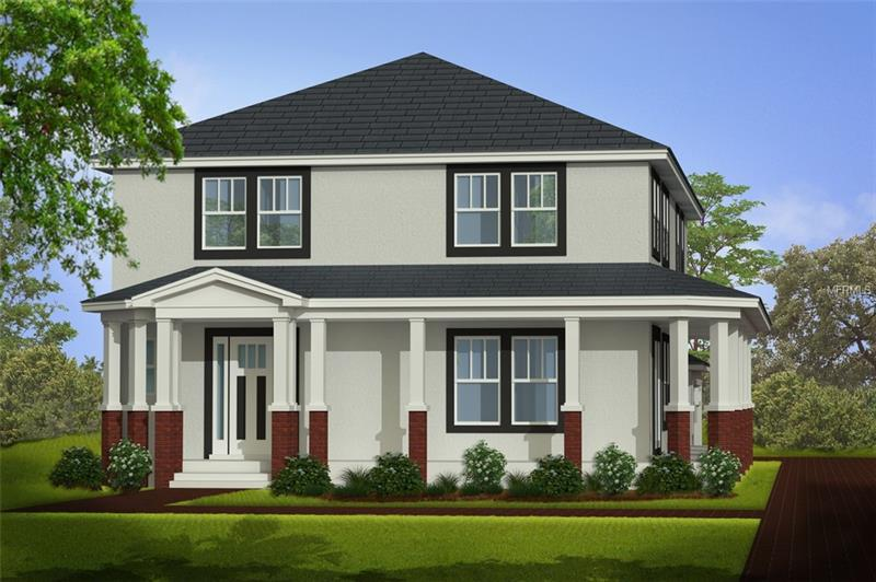Under Construction. To be built. NEW CONSTRUCTION in the desirable LAWSONA/FERN CREEK Neighborhood! Just 2 blocks away from the beautiful Dickson Azalea Park. Quick walk to the MILK DISTRICT with popular restaurants, bars, and shops. Less than a mile to THORNTON PARK and LAKE EOLA. Just a quick bike or uber away from the MILLS 50 area and Downtown Orlando. Easy access to the 408 and airport. This home offers a true open concept with 29 FT CEILINGS in the entryway and great room. The kitchen is built for entertaining - endless cabinet space, 6 ft island, luxury appliances, sleek quartz countertops. Bring the outdoors inside with the spacious and inviting WRAPAROUND PORCH, also conveniently attached to the 2 CAR GARAGE for easy access. The master bedroom is located downstairs for convenience and privacy. The upstairs offers 3 additional bedrooms with loft space. Design Packet available by request. Schedule an appointment to review plans and selections at the construction site.
