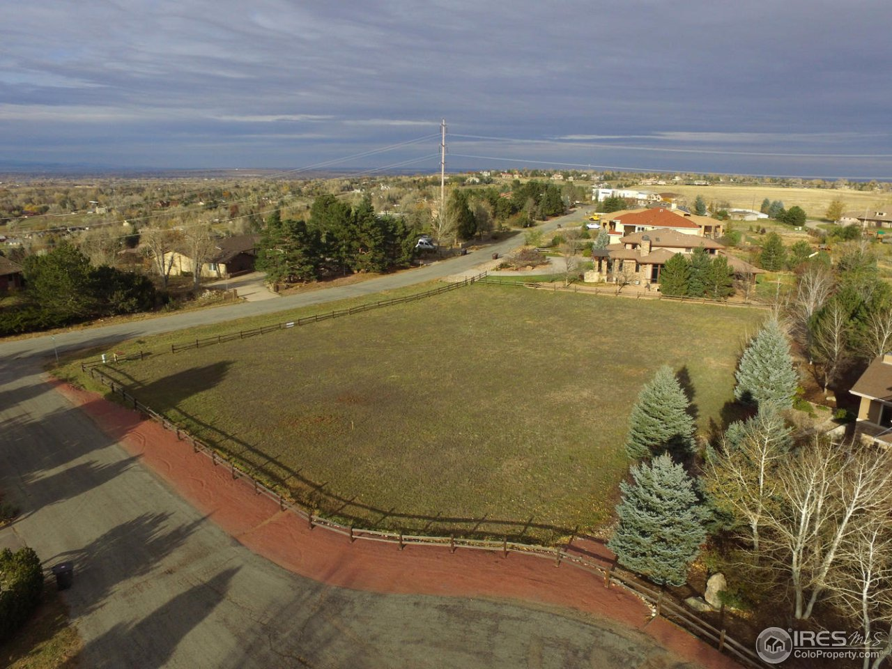 Build your dream home on this flat lot in highly desirable Panorama Park. Rare opportunity to purchase vacant land in Boulder County. Convenient location just 5 minutes to Boulder and  Louisville, with top rated BVSD schools.  Beautiful setting, close to open space and trails,and surrounded by multi-million dollar homes. Water tap fee paid. Home will need septic.