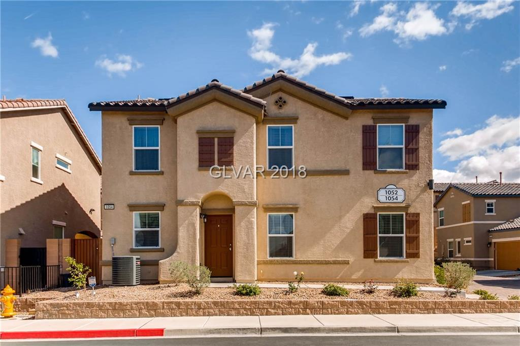 Spotless, highly upgraded newer home w/solar in great location! Open floor plan - 3 bed/2.5 bath attached home in cute community, includes large loft, 3 beds & laundry room up. Massive closet space in master suite. Kitchen w/granite, tile backsplash, stainless appliances.  Tankless water heater, LED lighting, R/O AND water softener add to the energy efficiency of this home.  Private patio wi/pavers. 2 car garage includes overhead storage racks.