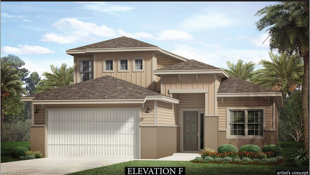 Live a Casually Awesome Lifestyle in the new unprecedented Resort Style community at Naples Reserve!  The masterfully designed (brand new construction) Bedford offer an open floorplan featuring a first floor master & den as well as two beds a loft & a full bath on the second floor.  Large lanai & a 2 car garage.  The Kitchen & baths are adorned with Quality crafted custom-designed cabinetry & solid surface counters.  Enjoy luxurious finishes & features throughout.  Private pools available.  Community amenities include: 24/hr guarded gate, 22 lakes (all navigable), 1-mile-long Rowing lane, Boat ramp, Island Club, Fitness center, 2 Bocce ball courts, Beach volleyball, Tiki bar & café with food & Beverage service, Resort style pool, Fire pit, use of Electric boats, Kontiki Island (great picnic spot), Stand-up paddle boards, Kayaks & Canoes, 5 Tennis courts, 4 Pickle ball courts, 2 Dog parks, Miles of walking/biking paths, a Children's play area & more!  As the premier builder in the community we offer the best value for your money, low HOA fees & a desirable location close to the clubhouse.  We have decorated models open 7 days/week & homes that can close now or as far out as 7 months