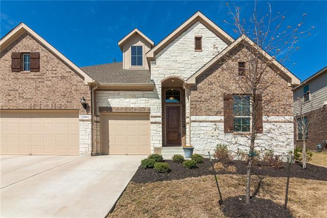 """Pristine 4 bed/3 bath 1-story in desirable Park at Blackhawk! Your dream home is move-in ready, close to shopping, entertainment & mins. from major employers. Open floor plan w/upgrades--flooded w/natural light & high-end design. Chef's kitchen has ext. granite counters, island, 42"""" cabinets & opens to family rm & dining. Game/flex space has endless possibilities & covered patio will be a favorite gathering place. A luxurious master suite has soaking tub, walk-in shower & WIC w/storage. 3 car gar. + more!"""