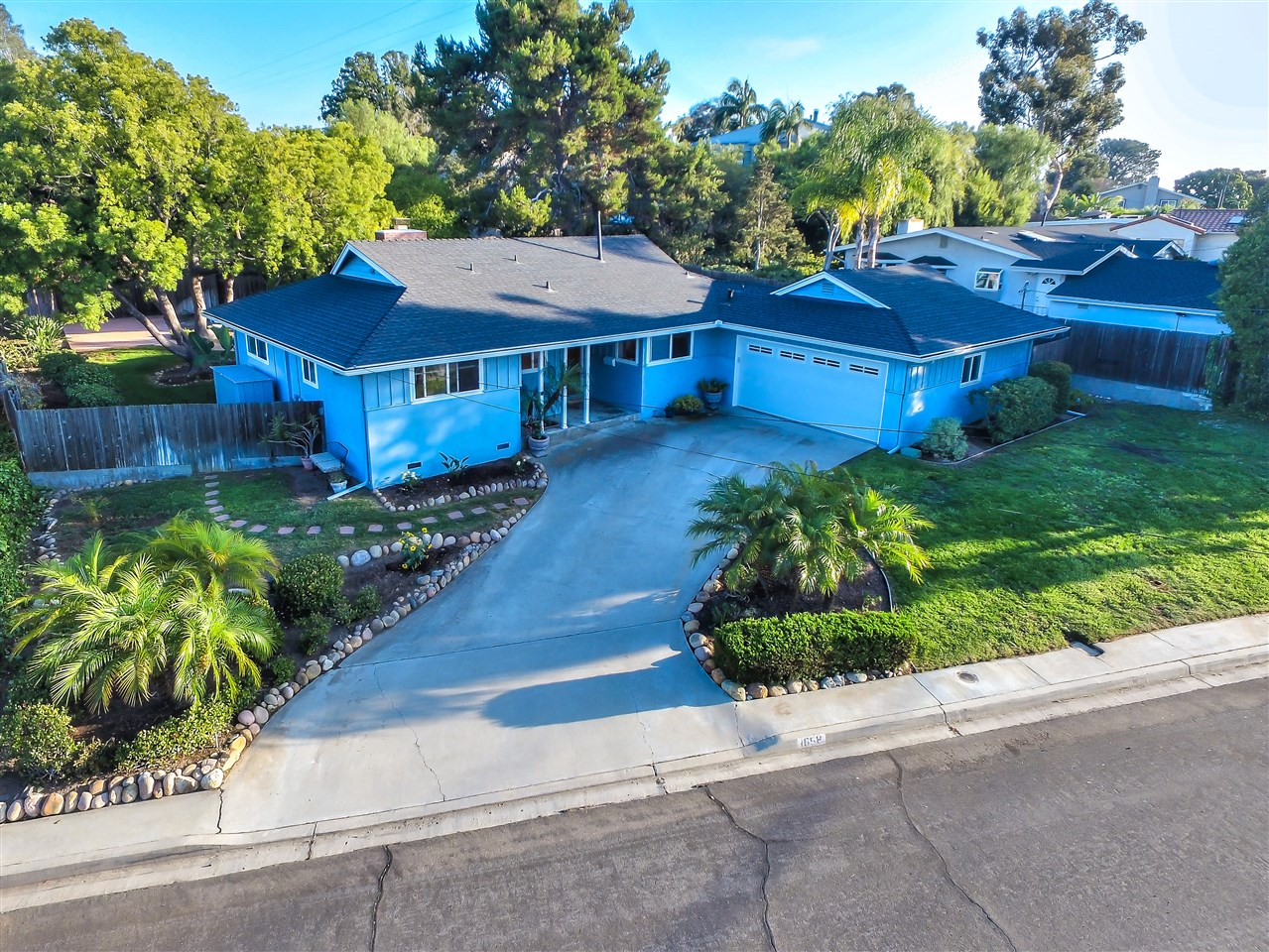 Rarely available home in a sought after North PB neighborhood known for huge lot sizes & multi-million dollar houses. Great location bordering La Jolla, close to the beach & a couple blocks to Kate Sessions Park.  Large 10,400 sq ft lot with so much room to expand!  Serene park like backyard with shade trees & birds chirping. Remodeled Chef's style kitchen featuring granite counters, custom cabinets & stainless steel appliances.  Kitchen/dining/living room have an open great room feel.  See supplement...What a location!  This home is located close to the beach and in an area that has a true neighborhood feel!  It has so much potential and upside if it were to be expanded into a 2 story DREAM home!  It may also be able to have granny flat added due to it's large level 10,400 sq ft lot.  It has had many updates over the years such as central air conditioning and vinyl windows, has been well maintained, and has also had regular service to prevent termites. Don't miss your chance to own a home in this premier Pacific Beach neighborhood!   Buyer to verify all information prior to close of escrow.