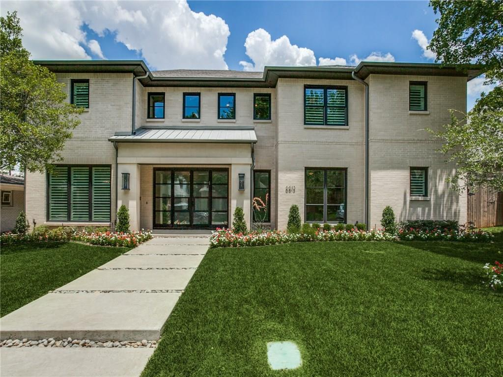 Exquisite 2016 built transitional home in the heart of Preston Hollow. 5 beds, 5.1 baths, 3 car garage. Great floor plan with master and guest room down, open kitchen to den, formal dining, study, laundry down and mud room. Outdoor living with built in grill and accordion style doors make indoor-outdoor entertaining a dream. Upstairs are 3 secondary bedrooms, combo game room and media room and optional exercise-flex room. This light bright home with its high ceilings and neutral color palette is turnkey and ready to move in to!