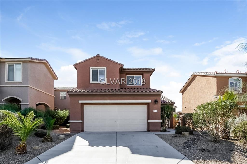 Built in 2004, this Henderson two-story offers a fireplace, stainless steel appliances, and a two-car garage. Upgraded features include fresh exterior paint. This home is part of the Anthem Highlands HOA. Home comes with a 30-day buyback guarantee. Terms and conditions apply.