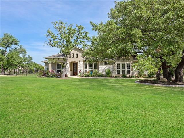 Ranch home on rare corner lot with extensive upgrades. Mature Oaks throughout the property make it a gem. Current builders are asking 40k+ in lot premiums for trees. With over an acre of land there is plenty to do. Upgrades: Acacia wood floors, wood beams, watersoftner, uplights, 5th bedroom with closet, full gutters, extended kitchen Island, large covered patio, 500 gallon propane which is no longer provided by builders and much more. Serene country setting where you can relax and enjoy nature.
