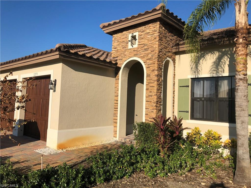 A.23 Short Sale Available NOW Hot Opportunity to get this very well maintained Almanor at a Great Price! Impact Glass Staggered Tile Upgraded Kitchen an Extended Patio on a Fantastic Lot.  Located on Messina Street - the Backyard is very private with both neighbors Lanai's not visible. This home is going to sell for a very good price and is in great condition...Don't Wait to Put your Offer IN ~ Living in Ave Maria! Seller requests that buyer pay 2% or $3,500 (whichever is greater) to short sale negotiator.