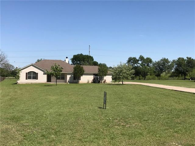 Come enjoy the peacefulness of this single story ranch style family home in The Lookout, a large lot subdivision in Hutto, Tx.  This home allows for views of rolling hills from rear of property.  Home sits on over an acre lot and has 4 bedrooms, 2 bathrooms, 2 living areas & 2 dining areas, this mother-in-law plan has a very good layout.  Easy to show just go, lockbox on front door.  Fresh paint (2/18) and fresh new carpet (2/18) this home is ready for it's new family