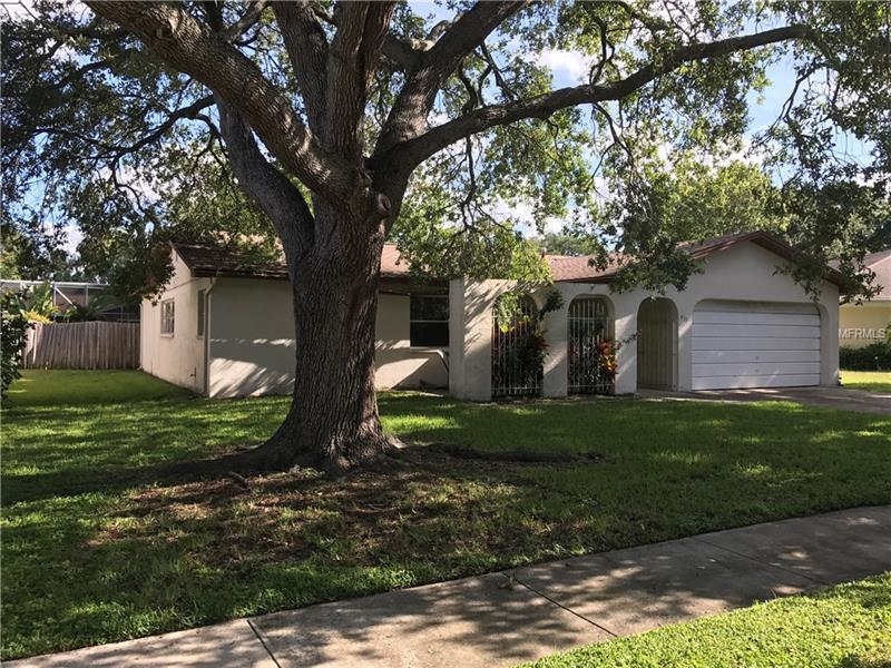 """Incredible """"fixer-upper"""" opportunity in quiet neighborhood in the heart of Largo.  This pool home is move in ready with the roof replaced in 2005 and new A/C unit installed in 2016.  Ideal location near hospitals, schools, waterways, parks, shopping, transportation - everything.   Property being sold as-is for convenience of seller.  Home priced for a quick sale."""