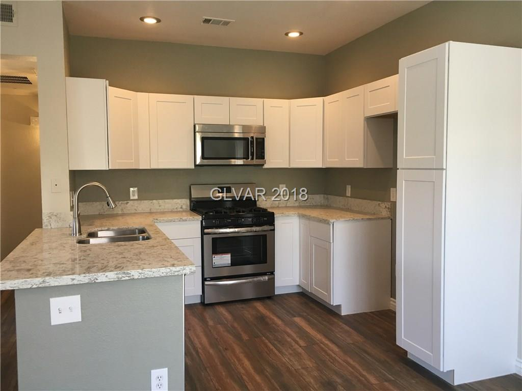 Complete remodel is in process. New kitchen w/white cabinets, granite counters, stainless appliances. New floors throughout. The bathroom has been updated. Inside this gated community there are pools, spas and a fitness center. There is shopping, dining, The District & Henderson Multi Gen Center nearby.
