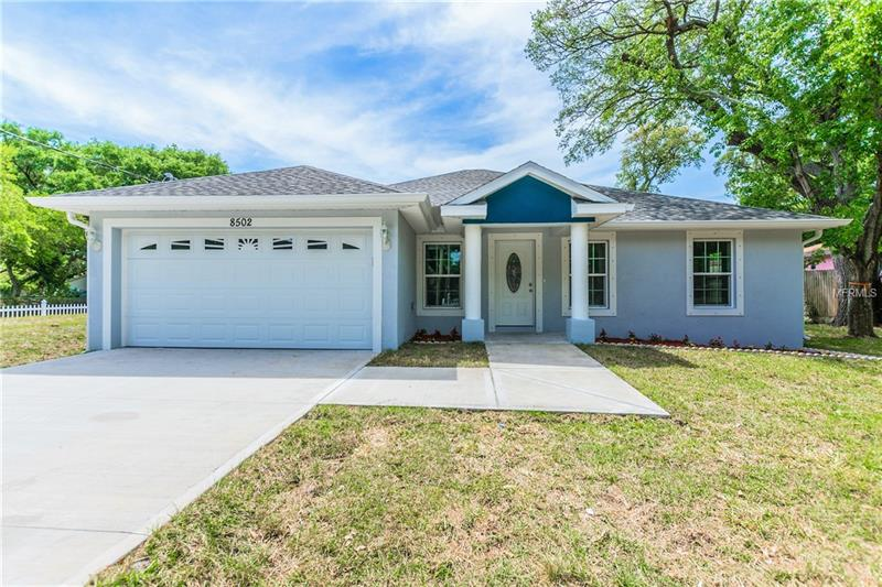 NEW CONSTRUCTION!! Open concept!! Spacious 3 Bedroom / 2 Bath features Laminates Throughout all Common Areas, Modern Style Tile in Both Baths, Kitchen with beautiful Granite Counter Tops and New Stainless Steel Appliances. NO HOA OR CDD!!