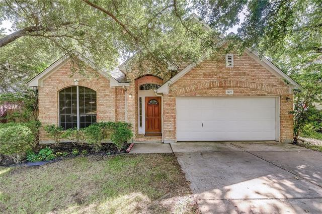 Wonderful updated 1 story & great opportunity to live only minutes from The Domain & Tech corridor which includes Apple, Ebay, Pay Pal, Del & IBM~Mature trees, quiet neighborhood & convenient access to MoPac & I-35 are just a few features of this great home~The bright, expansive living space with fireplace opens to a large, eat-in kitchen with breakfast bar & center island, with ample storage space~The private master bedroom is large & features a newly remodeled bathroom & large walk-in closet~Come see!