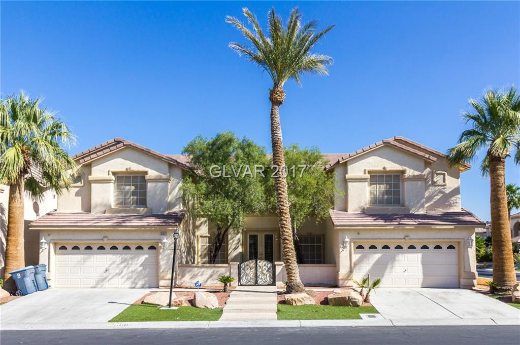 EXTRAORDINARY 5 BED + LOFT, 5 BATH, 4 CAR GAR ESTATE HOME ON .35 ACRES IN GATED, EXCLUSIVE SILVERADO RANCH NEIGHBORHOOD. Dual Mstrs-Up + Down. Mstr Up w/ Lrg Soaking Tub, Dbl Shower Head, His+Her Sinks + Commodes, 2 Office/Sitting Rms, Custom Closet. GOURMET CHEF'S KITCHEN w/ Island, Brkfst Bar, Walk-in Pantry, Dbl Built-in Ovens. Dramatic High Ceiling in Fam Rm w/ Gas Frplce. Formal Din Rm. Living Rm w/ Frplce,Wet Bar. Marble,Slate,Wood,+Carpet