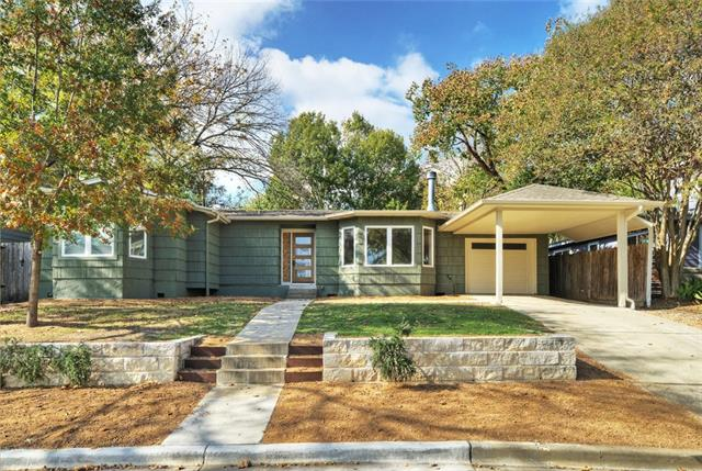 New Price - LOCATION, LOCATION - One of Austin's greatest areas to call home, this one-story mid-century home is near downtown at 45th and Oakmont Blvd. Come early, very popular street with a mix of old and new homes; lot is elevated from the homes across the street.  Updated and ready for move in; new screened in porch, new paint in and out; updated fixtures, and new appliance suite conveys. Minutes from downtown, local entertainment, restaurants and medical district in a uniquely Austin area.