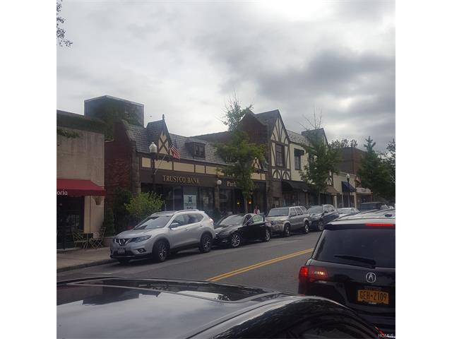 Prime office space available in central Bronxville close to train and shops. Layout permits reception area and two private offices.