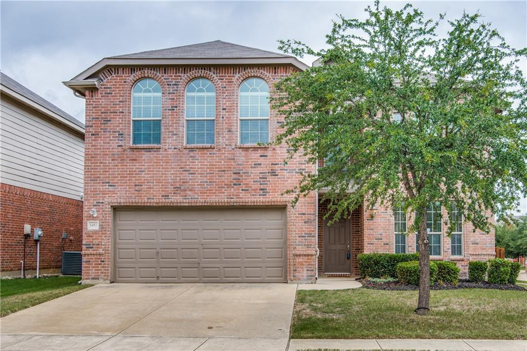 Don't miss this lovingly maintained 5 bedroom, 3 bathroom home in Rivers Edge, Northwest ISD! Located in a quiet neighborhood on a large corner lot, this K. Hovnanian Home has a fantastic floorplan with upstairs game & media rooms. The eat-in kitchen, which overlooks the living room, features granite countertops, a recently installed microwave, center island, breakfast bar and ample cabinets for storage. The oversized, upstairs master suite offers a sitting area and spa-like bathroom with a double sink vanity, separate shower, garden tub and walk-in closet. The backyard features a covered patio, an ideal place for summer barbecues. Conveniently located near HWY 35, Texas Motor Speedway & new Tanger Outlets.