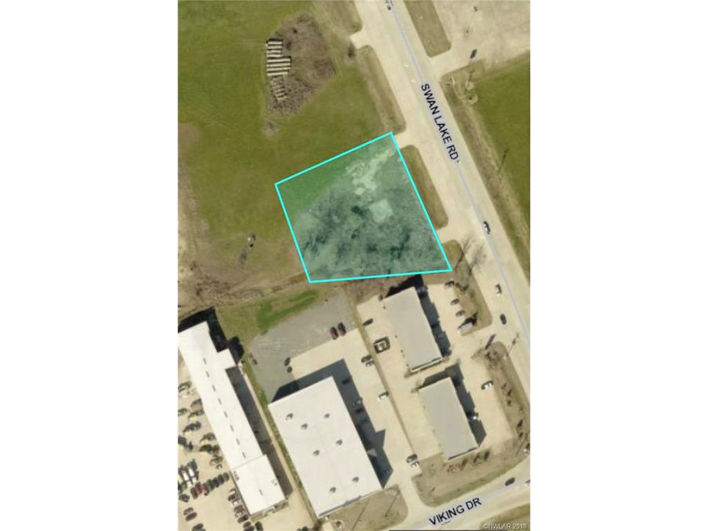 Over an acre on Swan Lake Road. Conveniently located right off I-220. Land is cleared and zoned for light Industrial.