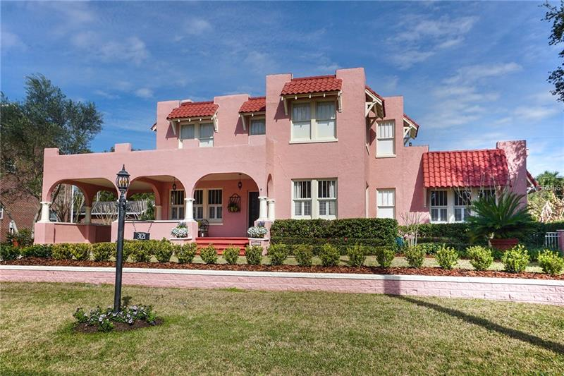 This 1926 Spanish-Mediterranean home has been completely restored and renovated within the last 3 years. This pool home features the traditions and style of the 1920's with the conveniences of a new home. Situated on a double lot (.335 acre), in the highly sought-after Bayshore Beautiful neighborhood,  is just a short walk to Bay Shore Blvd. The home consists of 4 bedrooms and 3.5 bathrooms, family room, formal dining room and a formal living room/ office. Down stairs is the Master bedroom with en suite and extra large walk in closet. The home has hard wood floors throughout, new roof, new A/C units, remodeled kitchen with wine frig, a re-screened pool enclosure and fresh paint on interior walls.  A note of interest, the home sits at an elevation of 21 feet above sea level and is not prone to flooding.  This home is a must see! Call the agent for an immediate showing.  Square footage recently verified by certified appraiser.