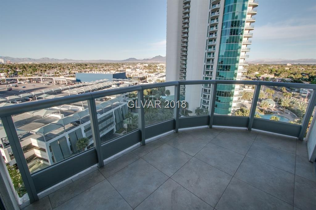 Beautiful 2BR /2BA unit at TURNBERRY TOWERS WEST. Terraces feature beautiful views of the strip to 